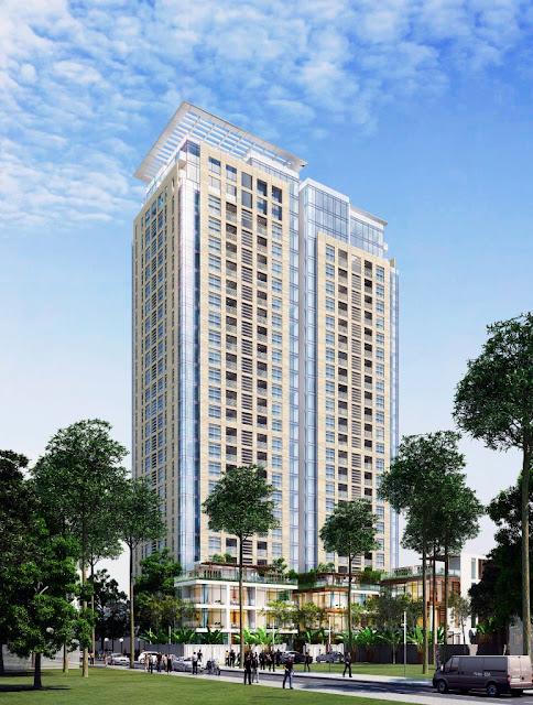 Chung cư Mon Central 29 Láng Hạ