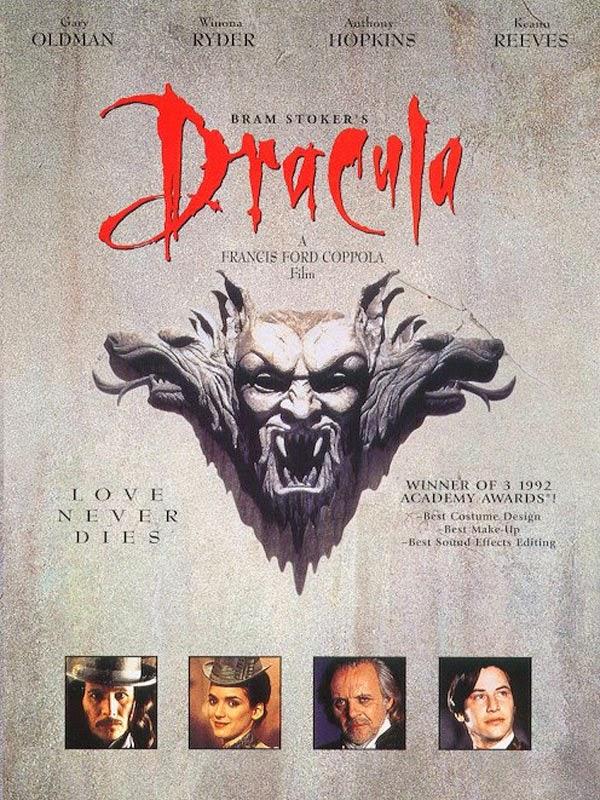 Affiche française du Dracula de Coppola (1992)