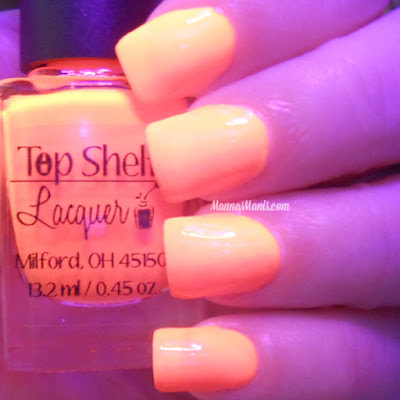 Top Shelf Lacquer  Tropical Orange Dream swatches