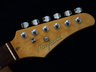 image Haywire Custom Guitars Head stock