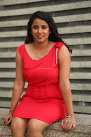 Shravya Reddy in Short Tight Red Dress Spicy Pics ~  Exclusive Pics 100.JPG