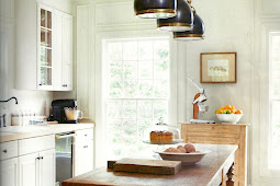 Stylelinx: Kitchen island lighting