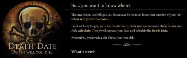 Click here to see when you will die!