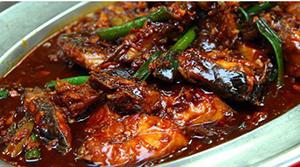 ikan tongkol saus tiram kecap