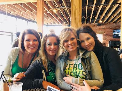 Celebrating St. Patricks Day, Omaha, Nebraska