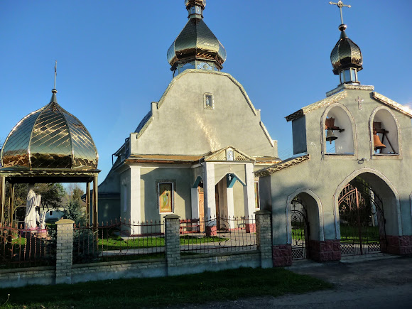 Нове Село. Церква Великомученика Юрія. УГКЦ