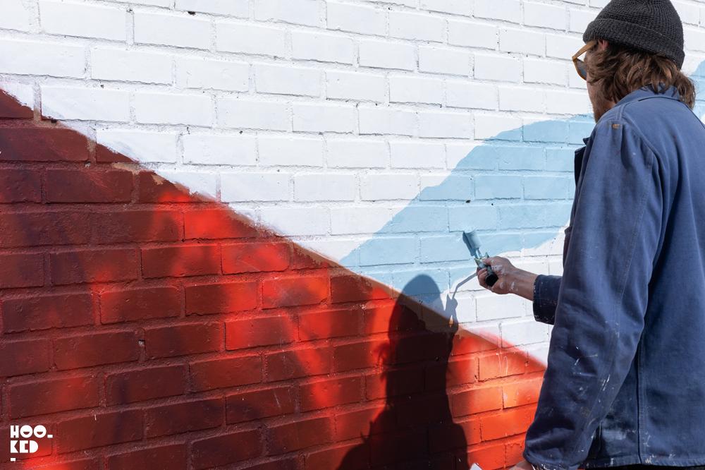 David Walker Mural In Ostend, Belgium