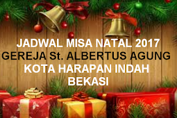 Jadwal Misa Natal 2017