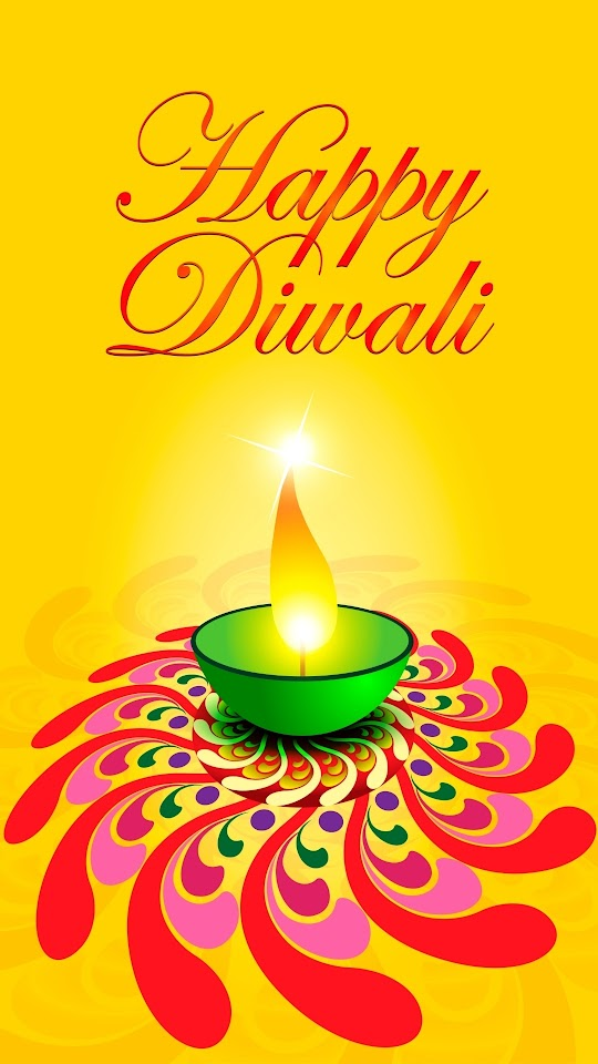 Diwali Card Vector Galaxy Note HD Wallpaper