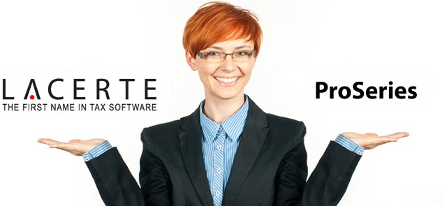 Lacerte and ProSeries Tax Preparation Software USA