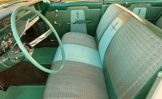 1961 Oldsmobile Dynamic 88 Seat Front