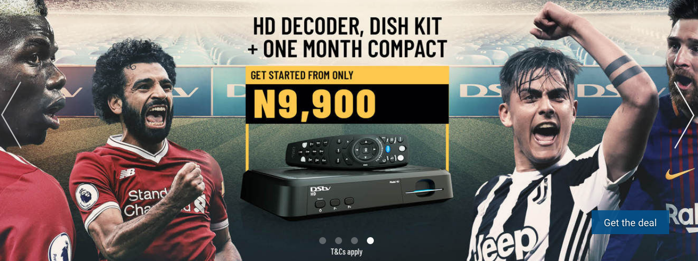 Dstv nigeria products 2019; prices, bouquets and subscription.