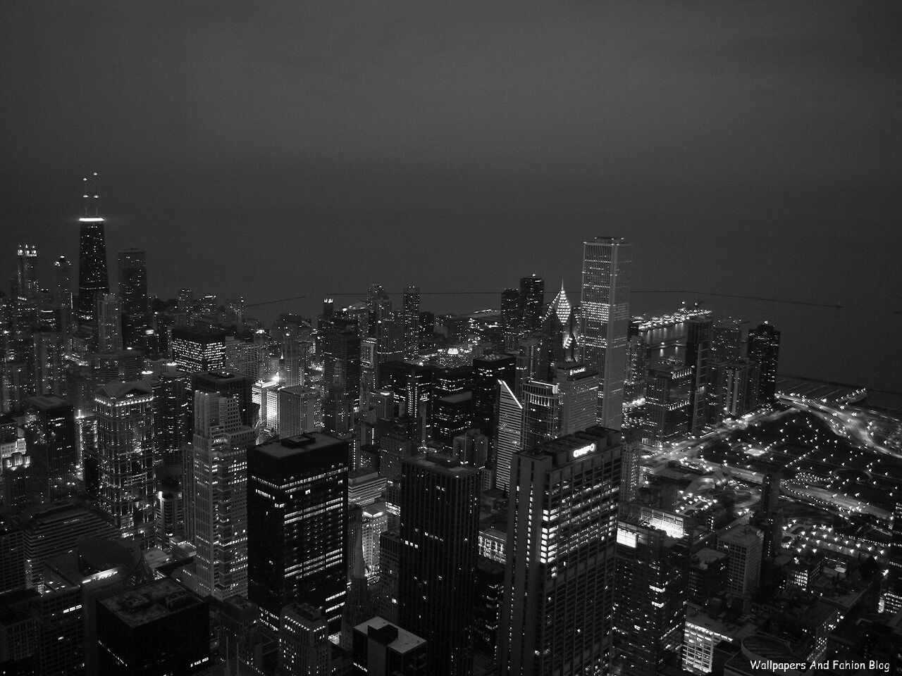 Chicago At Night Wallpaper: Tops Wallpapers Around The World (Natural Background