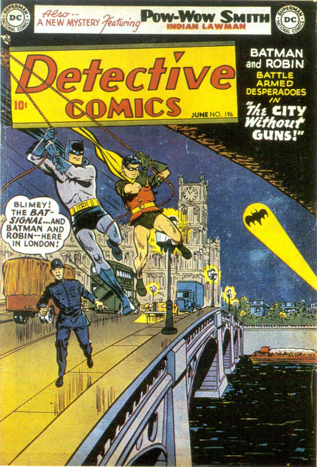 Read online Detective Comics (1937) comic -  Issue #196 - 1