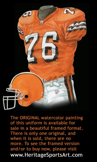 Cleveland Browns Uniform And Team History Heritage