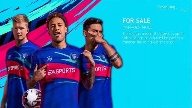 تحميل لعبة كرة القدم FTS 19 Mod PES 2019 مهكرة  للأندرويد من ميديا فاير