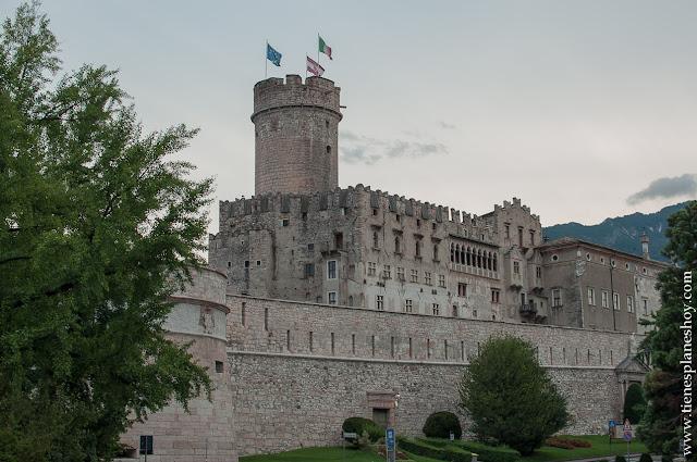 Castillo de Trento viaje Italia