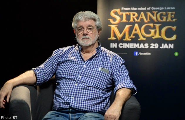 George Lucas Hits Out At Critics Of Strange Magic