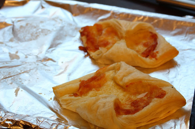 finished bacon and cheese turnovers by shoutjohn