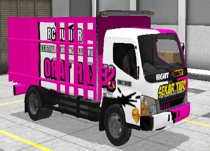 Livery Truk Bussid Canter Sekartaro