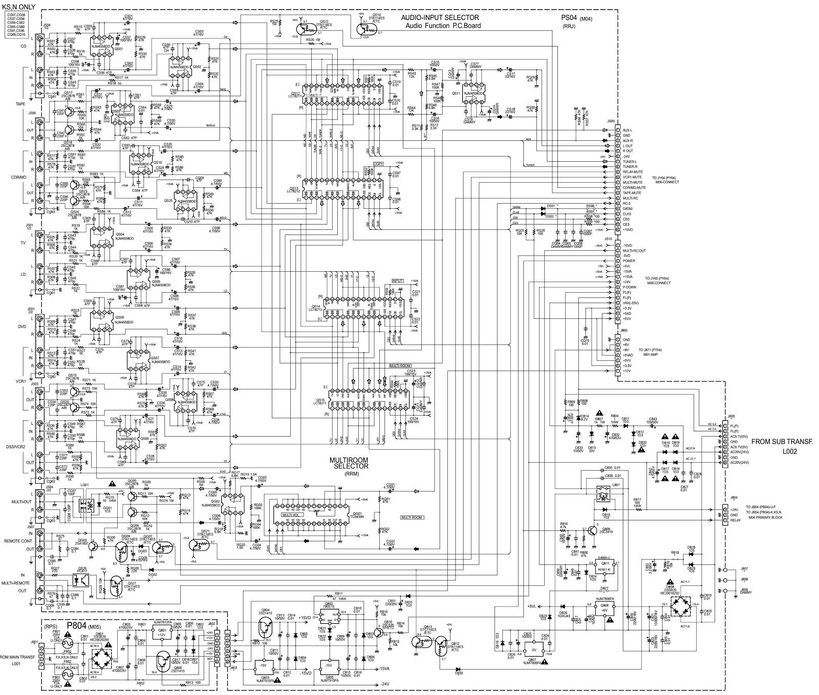Marantz Sr18 Schematic Adjustments