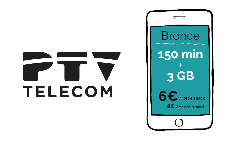 PTV Telecom nuevas tarifas