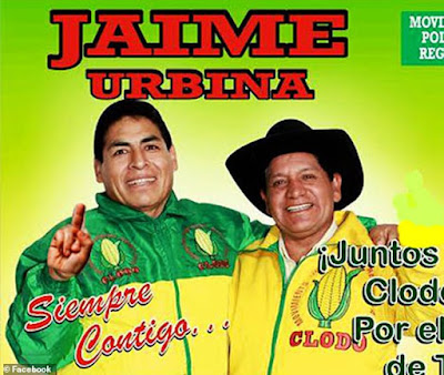 Mayor Jaime Rolando Urbina Torres of Tantará, Peru got into a coffin and played dead as the police came to arrest him for violating the law of curfew and social distancing.