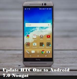 htc one m9 update nougat