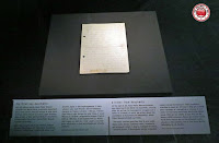 Carta en el Museo Judío de Berlín