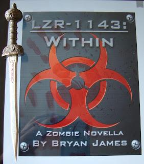 Portada de libro LZR-1143, de Bryan James