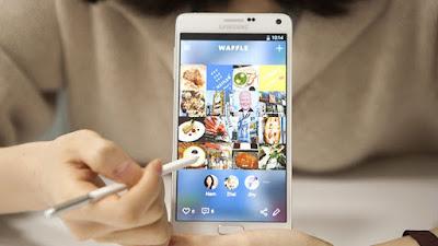 Waffle, Media Sosial Yang Unik Buatan Samsung