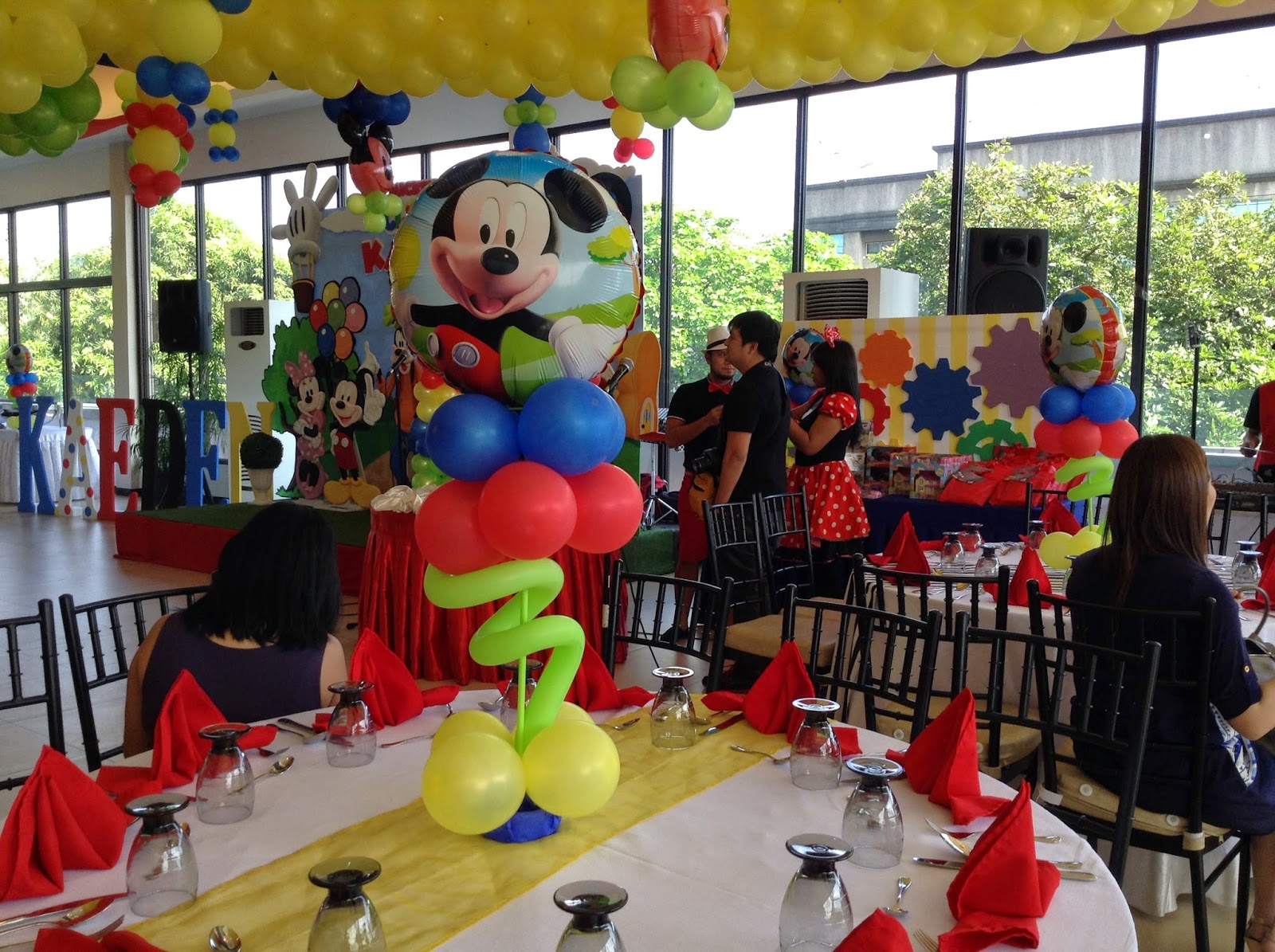 Mickey Mouse Clubhouse Themed Party: Kaeden's Mickey Mouse ...