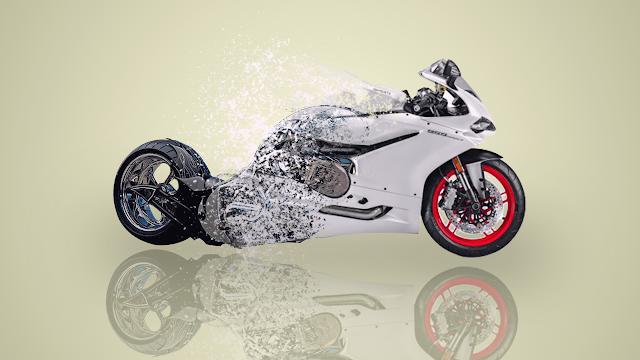 تصميم شعار إحترافي لموقع نيتش الدراجات النارية Photoshop Tutorial