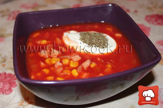 рецепт приготовления томатного супа