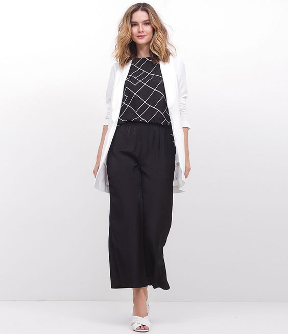#blog #estilo #style #streetstyle #estiloderua #look #outfit #blazer #blazerbranco #LojasRenner