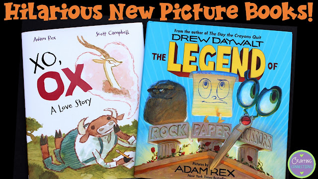 Elementary students of all ages will enjoy these hilarious new picture books!
