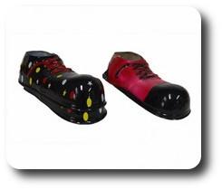Chaussures De Clown Géantes