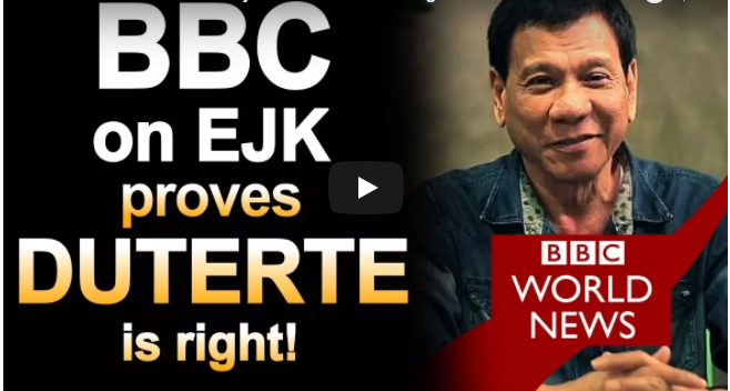 LOOK: BBC Documentary Proves Pres. Duterte is right about EJK