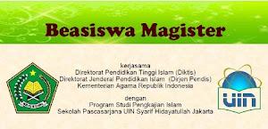 Beasiswa S2 Dalam Negeri Studi Islam di UIN Syarif Hidayatullah Jakarta