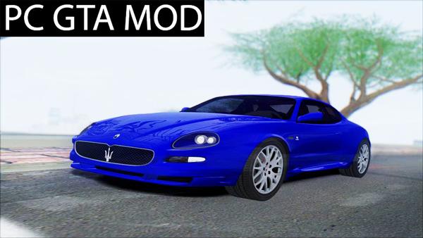 Free Download 2006 Maserati Gransport Mod for GTA San Andreas