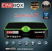 CINEBOX SUPREMO X ATUALIZAÇÃO - 29/06/2017