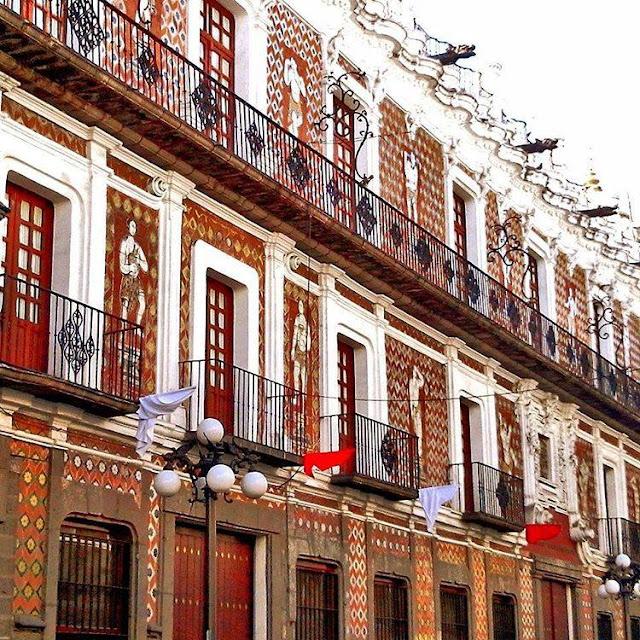 Casa de los muñecos en Puebla