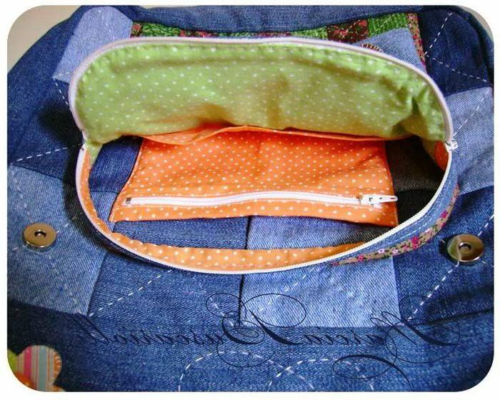 Как сшить рюкзак из джинс. Выкройки и идеи.