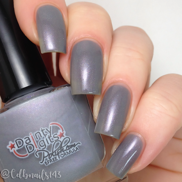 Dainty Digits Polish-Fiddy Shades of Gray