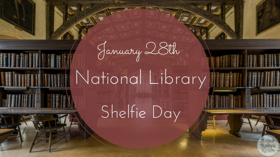 national library shelfie day jan 28th