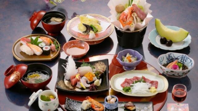 النظام الغذائي الياباني