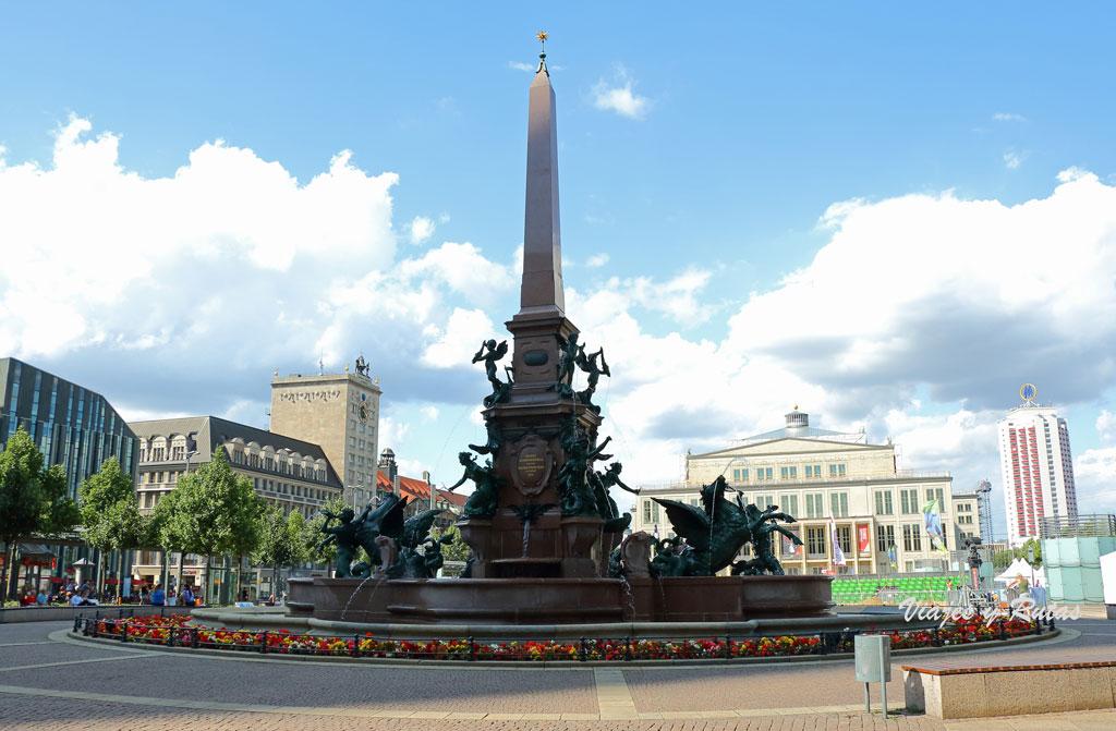 Fuente Mendebrunnen,Ópera, Lepzig