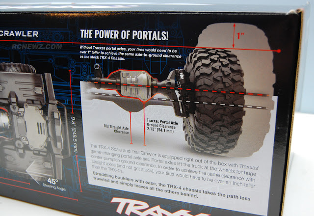 Traxxas TRX-4 Box Art Photos
