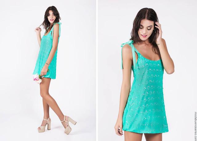 Vestidos de fiesta verano 2017 moda mujer. Moda 2017.