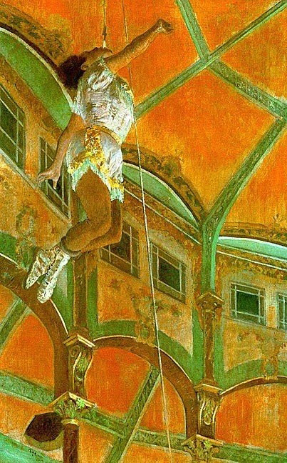 Miss Lala at the Cirque Fernando by Edgar Degas